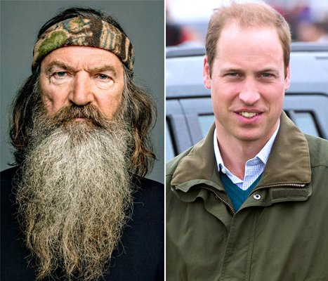 Phil Robertson On Southern Racism, Prince William's Private Kate