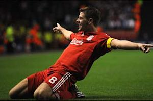 Rodgers hails Gerrard's adaptation to Liverpool's new system