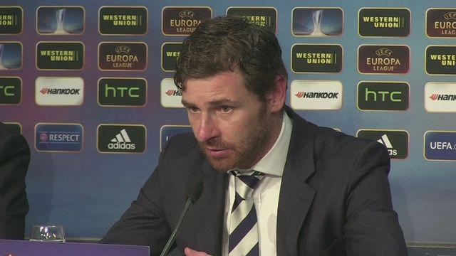 AVB disappointed after Spurs penalty heartache