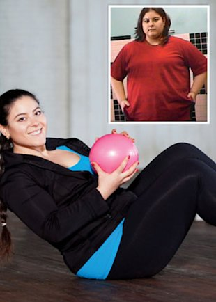Christina Taylor used Facebook to lose more than 100 pounds
