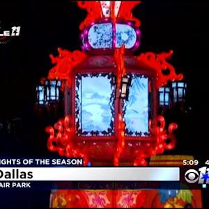 Chinese Lantern Festival Gets Holiday Twist