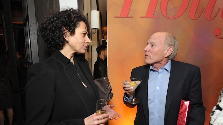 Donna Langley, left, co-chairman, Universal Pictures, and Frank Marshall attend The Hollywood Reporter Nominees' Night at Spago on Monday, Feb. 4, 2013, in Beverly Hills, Calif. (Photo by John Shearer/Invision for The Hollywood Reporter/AP Images)
