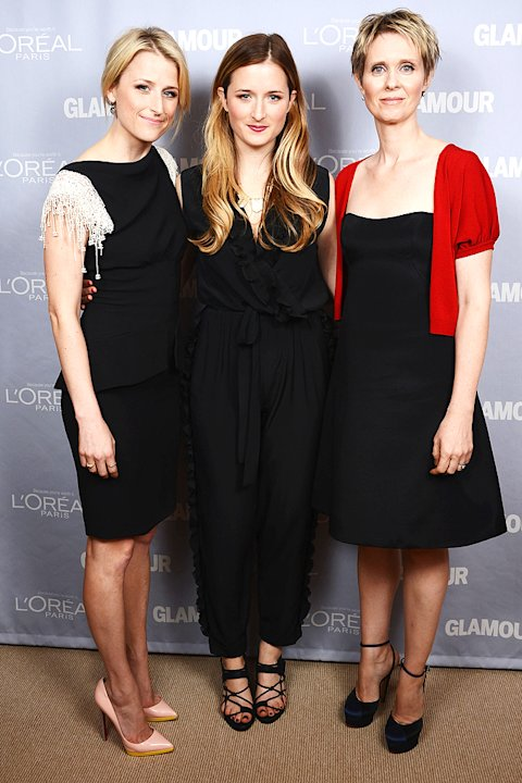 Mamie Gummer, Grace Gummer, Cynthia Nixon