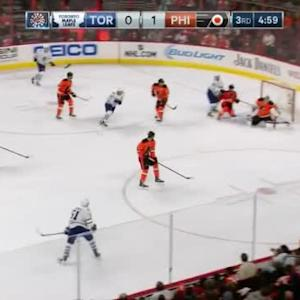 Steve Mason Save on Jake Gardiner (15:03/3rd)