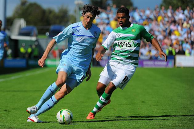 Reuben Reid was on target as Yeovil eased to victory at Scunthorpe