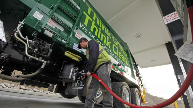 Natural gas drillers target US truck, bus market
