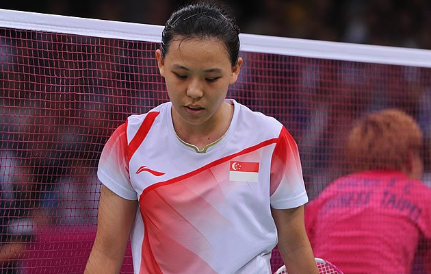Gu Juan's Olympic journey comes to an end after losing in straight sets in the round of 16 (Getty)