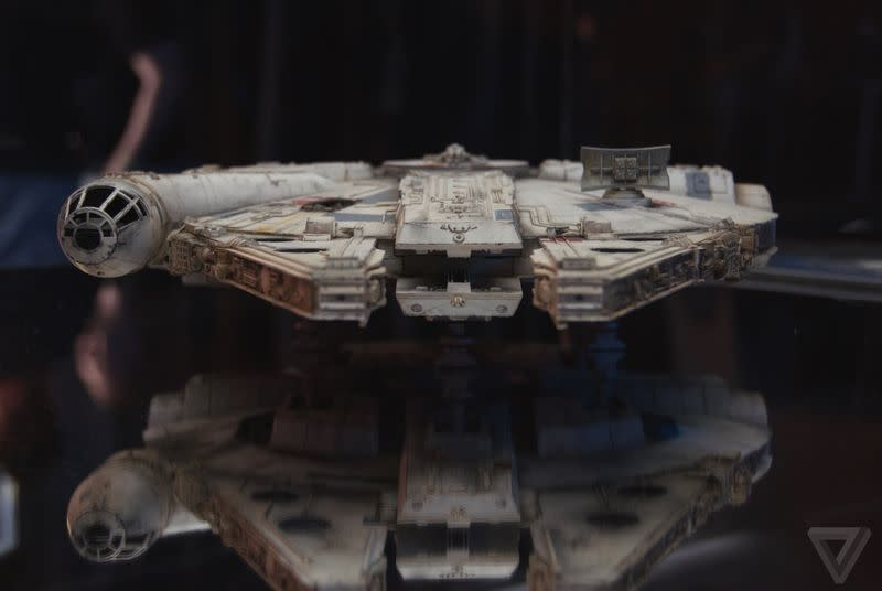 Up close with the ships, props, and costumes of Star Wars: The Force Awakens