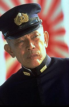 Mako as Admiral Yamamoto in Touchstone Pictures' Pearl Harbor