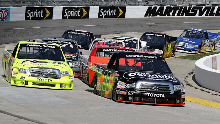 Penalty knocks Sauter from Truck Series lead