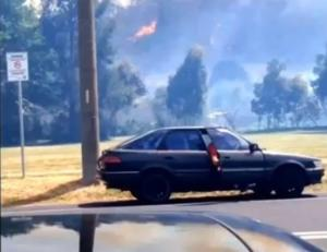Major Bushfire Threatens Lithgow, New South Wales