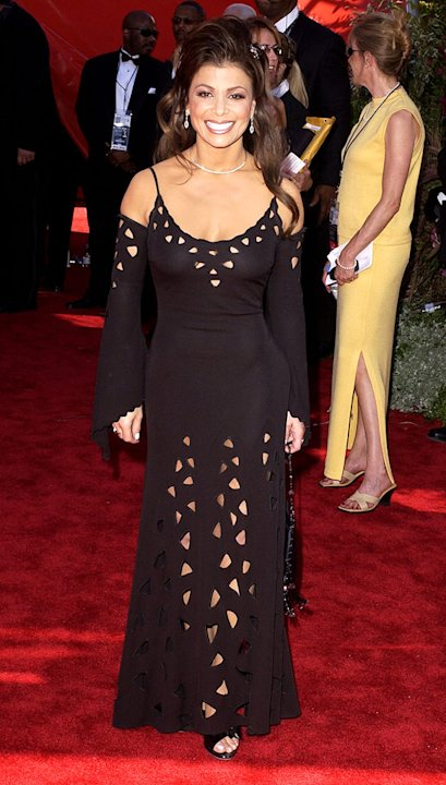 Paula Abdul at The 54th Annual Primetime Emmy Awards.