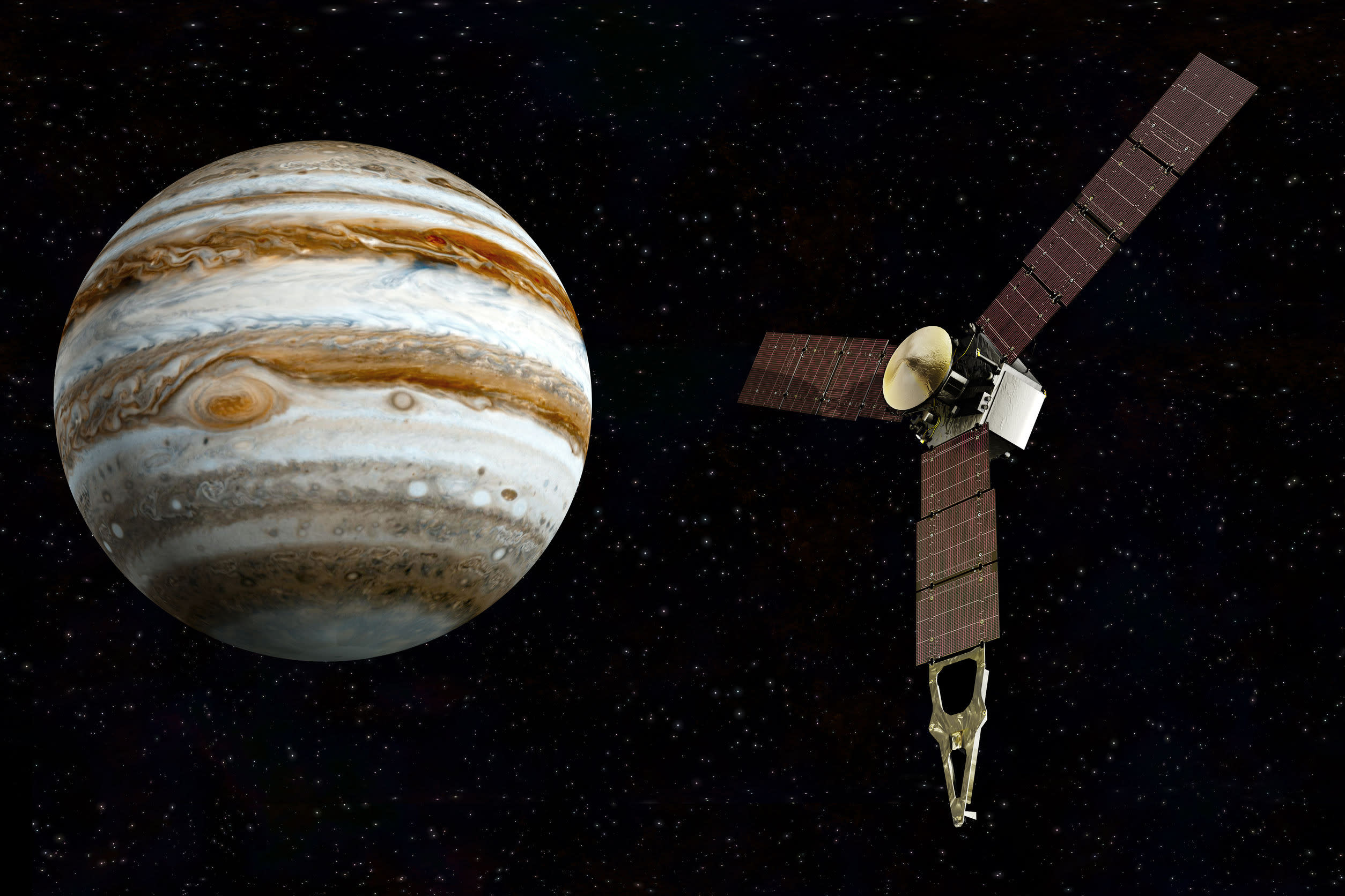 Before Juno's upcoming historic entry into Jupiter's orbit, watch how it all began