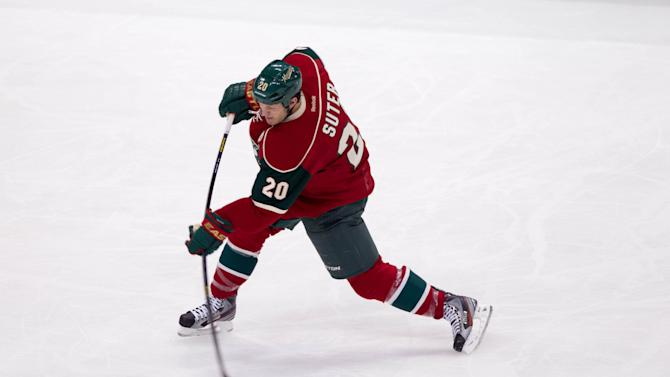NHL: Colorado Avalanche at Minnesota Wild