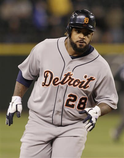 Tigers get 1st win over Mariners with 6-4 victory