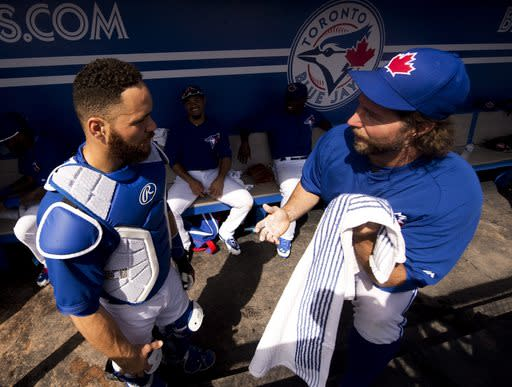 Martin looks ahead to new chapter with Blue Jays