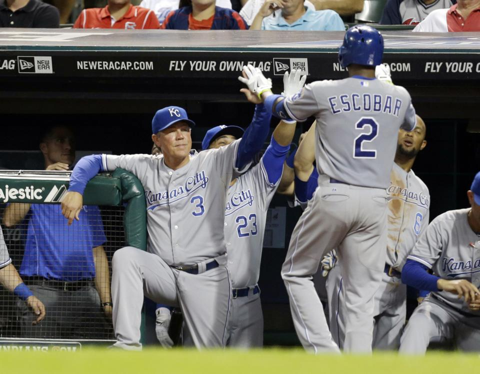 Guthrie, Royals drop Indians 6-3