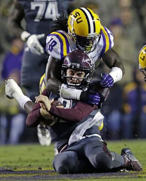 Manziel credits LSU D for his dud in Death Valley