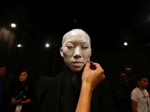 chinese model face