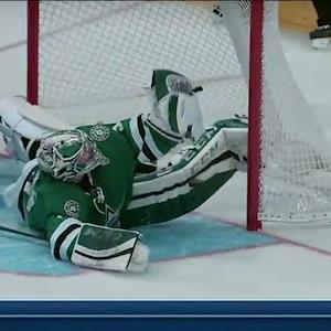 Kari Lehtonen's unbelievable pad save