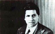 Srinivasa Ramanujan