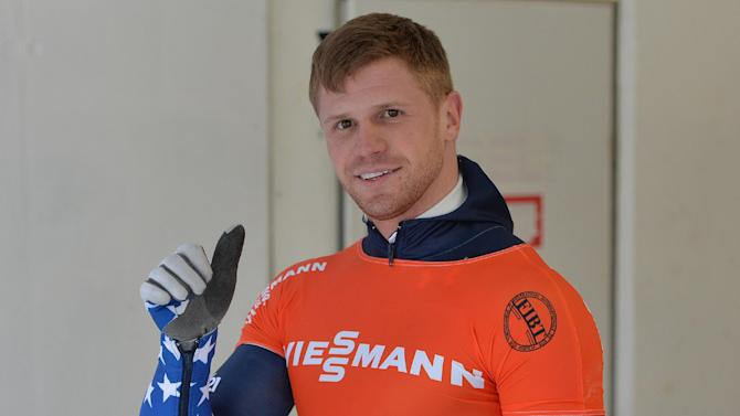 US skeleton team selected for Sochi Olympics