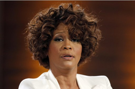"File photo of singer Whitney Houston  on the German TV game show ""Wetten Dass"" (Bet it...?) in Freiburg"