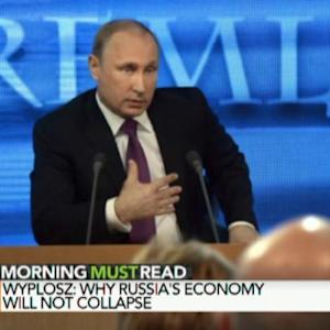Must Putin Stay Aggressive to Save Russian Economy?