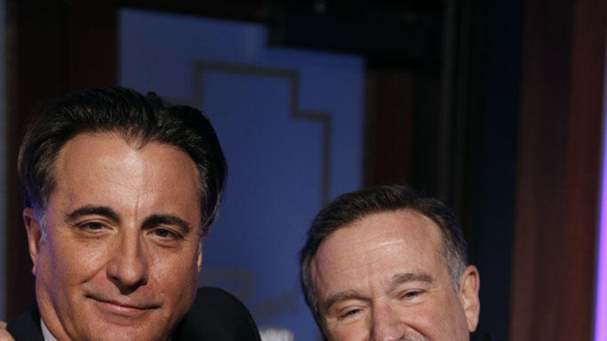 JIMMY KIMMEL LIVE - ANDY GARCIA, ROBIN WILLIAMS