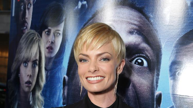 Jaime Pressly seen at the Los Angeles World Premiere of Open Road Films 'A Haunted House 2,' on Wednesday, April 16, 2014 in Los Angeles. (Photo by Eric Charbonneau/Invision for Open Road Films/AP Images)