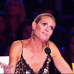 Heidi Klum Offended by 'AGT' Contestant