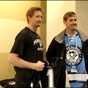 Penguins Welcome Veterans For Practice