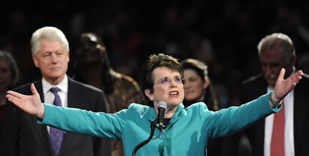Homophobic Russia: Gay Tennis Legend Billie Jean King is Obama's Sochi Olympics Ambassador