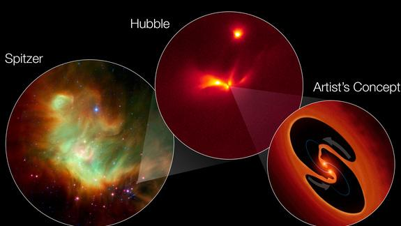 Rare 'Strobe Light' Star May Actually Be Twins