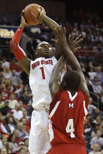 Buford leads No. 2 Ohio St over Miami, Ohio 69-40