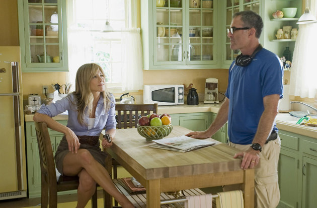 Jennifer Aniston Director David Frankel Marley & Me Production Stills 20th Century Fox 2008