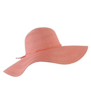 Bow Accent Floppy Hat