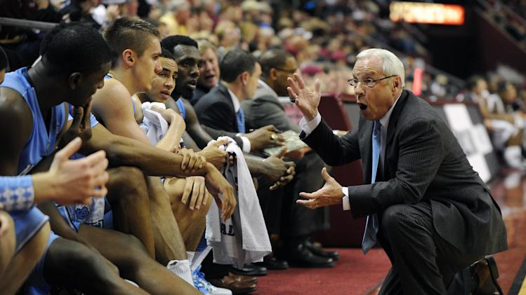 NCAA Basketball: North Carolina at Florida State