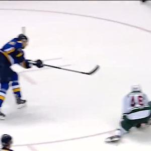 Berglund extends Blues lead late in 3rd period