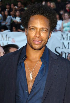 Premiere: Gary Dourdan at the Los Angeles premiere of 20th Century Fox's Mr. &amp; Mrs. Smith - 6/7/2005 