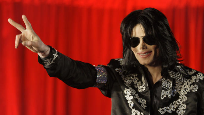 FILE- In this March 5, 2009, file photo, Michael Jackson makes an announcement about upcoming performances at the London O2 Arena. A Los Angeles jury heard from two medical professionals that Jackson requested the powerful anesthetic propofol for sleep during testimony on Aug. 28, 2013. Dr. Christine Quinn and nurse practitioner Cherilyn Lee detailed the singer's requests, separated by a decade, after being called to testify in a negligent hiring lawsuit filed by Jackson's mother against concert promoter AEG Live LLC. (AP Photo/Joel Ryan, File)