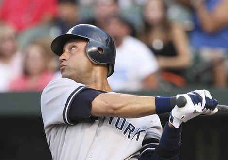 Derek Jeter Back on the Field for New York Yankees ... Sort Of