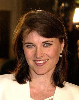 Premiere: Lucy Lawless at the Westwood premiere of Spy Game - 11/19/2001