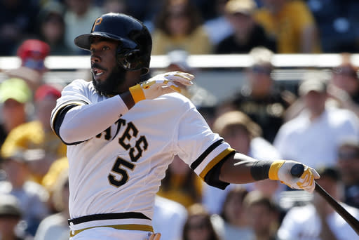 Harrison leads Pirates over Cubs 7-3