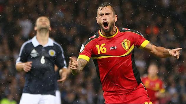 World Cup - Classy Belgium beat Scotland to close on Brazil