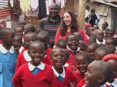 Couple's School Becomes Lifeline in Kenya