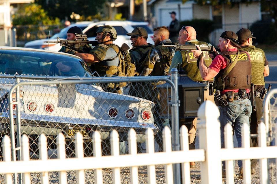 California Muslims condemn 'horrific' mass shooting, as a follow muslim killed 14 people.