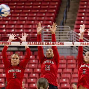 Texas Tech Volleyball Start Undefeated