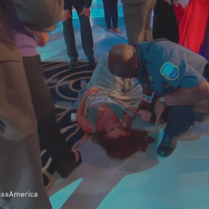 'Miss America' Contestant Collapses