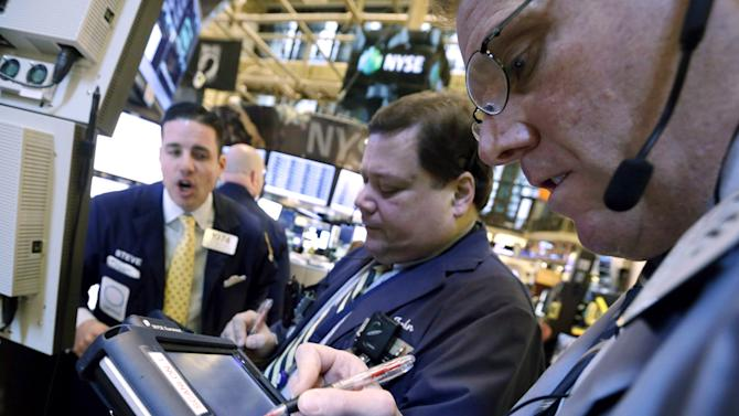 Stocks edge higher as retailers rally